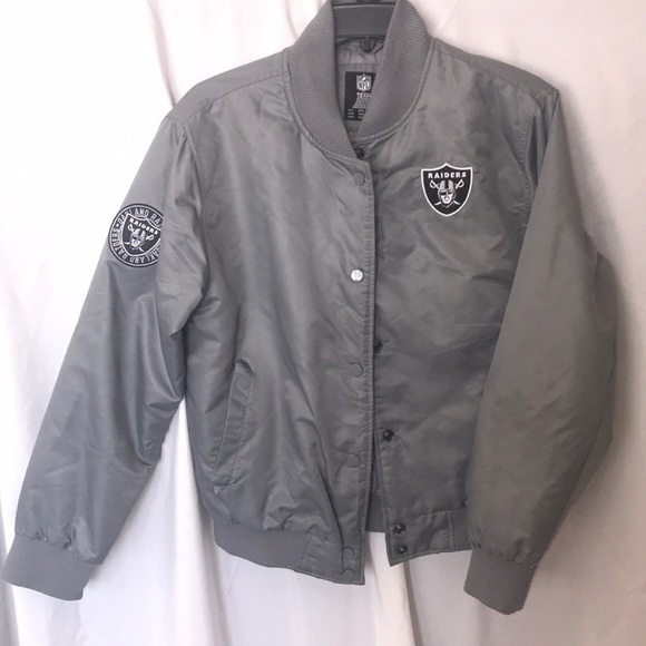 more photos 14704 f81c2 NFL Raiders bomber jacket